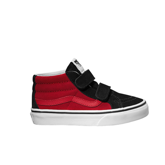 find workmanship matching in colour hot-selling VANS SK8TE MID TOP Red