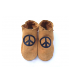 sippers, peace sign, hippie, leather