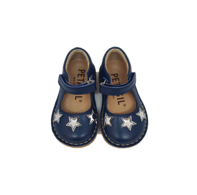 clarise navy with stars