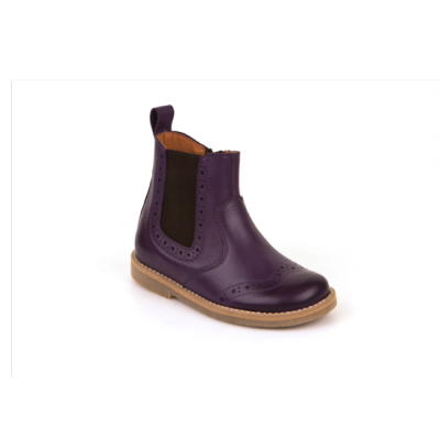 CHELSEA BOOT PURPLE
