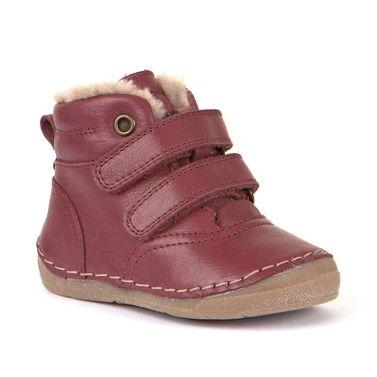 2 strap furry boot
