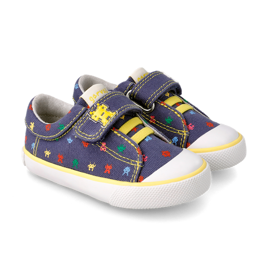 CANVAS-SHOES-For- KIDS-WITH-VELCRO